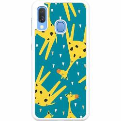 Samsung Galaxy A40 Hard Case (Vit) Giraffes Good Grace pt.2