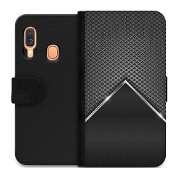 Samsung Galaxy A40 Wallet Case Metallic Peak
