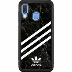 Samsung Galaxy A40 Soft Case (Svart) Fashion