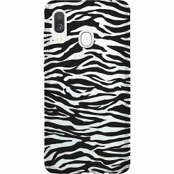 Samsung Galaxy A40 Thin Case Zebra Mönster