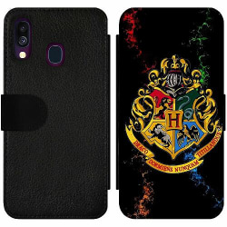 Samsung Galaxy A40 Wallet Slim Case Harry Potter
