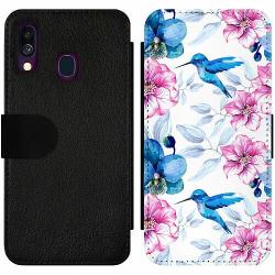 Samsung Galaxy A40 Wallet Slim Case Hummingbird