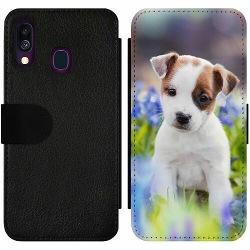 Samsung Galaxy A40 Wallet Slim Case Hund