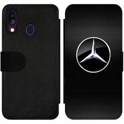 Samsung Galaxy A40 Wallet Slim Case Mercedes