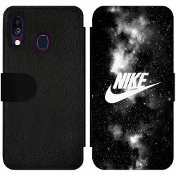 Samsung Galaxy A40 Wallet Slim Case Nike
