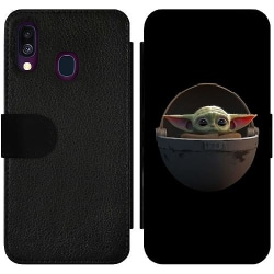 Samsung Galaxy A40 Wallet Slim Case Baby Yoda