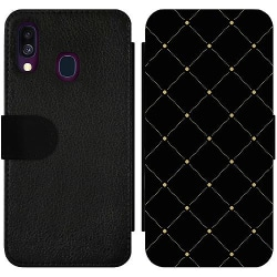 Samsung Galaxy A40 Wallet Slim Case Luxury