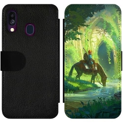 Samsung Galaxy A40 Wallet Slim Case Zelda