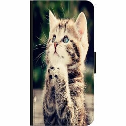 Samsung Galaxy A02s Fodralväska Katt
