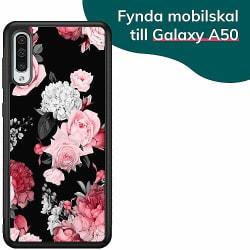 Samsung Galaxy A50 Billigt mobilskal - Blommor