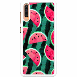 Samsung Galaxy A50 Hard Case (Vit) Crazy for Watermelon