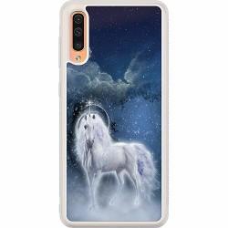 Samsung Galaxy A50 Soft Case (Frostad) Unicorn