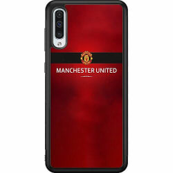 Samsung Galaxy A50 Soft Case (Svart) Manchester United