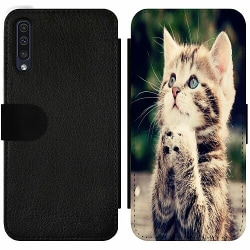 Samsung Galaxy A50 Wallet Slim Case Katt