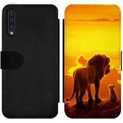 Samsung Galaxy A50 Wallet Slim Case Lion sun