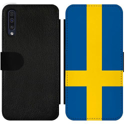 Samsung Galaxy A50 Wallet Slim Case Sverige