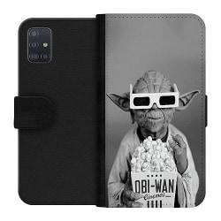 Samsung Galaxy A51 Wallet Case Yoda