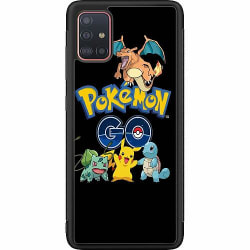 Samsung Galaxy A51 Soft Case (Svart) Pokemon