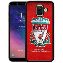 Samsung Galaxy A6 (2018) Soft Case (Svart) Liverpool