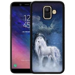 Samsung Galaxy A6 (2018) Soft Case (Svart) Magical Horse