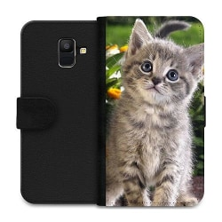 Samsung Galaxy A6 (2018) Wallet Case Cat