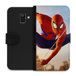 Samsung Galaxy A6 (2018) Wallet Case Spiderman