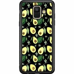 Samsung Galaxy A6 (2018) Soft Case (Svart) Avocado Tornado