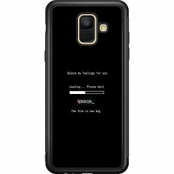 Samsung Galaxy A6 (2018) Soft Case (Svart) Loading