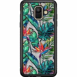 Samsung Galaxy A6 (2018) Soft Case (Svart) Löv