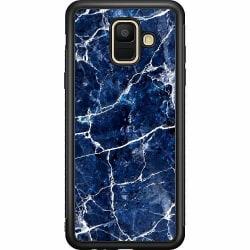 Samsung Galaxy A6 (2018) Soft Case (Svart) Marbles x2