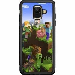 Samsung Galaxy A6 (2018) Soft Case (Svart) MineCraft