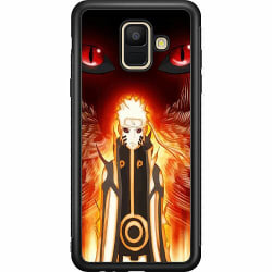 Samsung Galaxy A6 (2018) Soft Case (Svart) Naruto