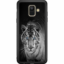 Samsung Galaxy A6 (2018) Soft Case (Svart) Tiger