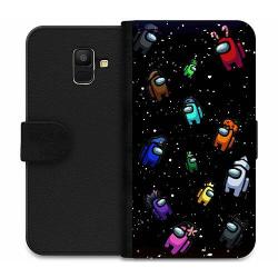 Samsung Galaxy A6 (2018) Wallet Case Among Us