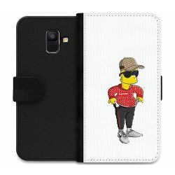 Samsung Galaxy A6 (2018) Wallet Case Bart Simpsons SUP