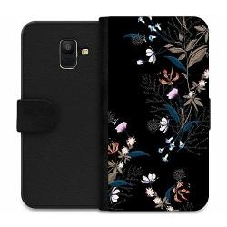 Samsung Galaxy A6 (2018) Wallet Case Blommor