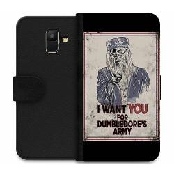 Samsung Galaxy A6 (2018) Wallet Case Harry Potter