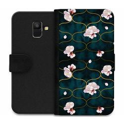 Samsung Galaxy A6 (2018) Wallet Case Japanese Garden