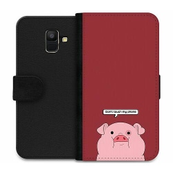 Samsung Galaxy A6 (2018) Wallet Case Touch My Phone
