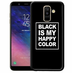 Samsung Galaxy A6 Plus (2018) Soft Case (Svart) Black