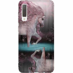 Samsung Galaxy A7 (2018) Thin Case Unicorn Pond