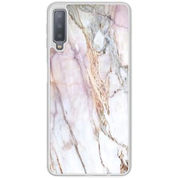 Samsung Galaxy A7 (2018) Soft Case (Frostad) Marmor