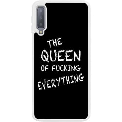Samsung Galaxy A7 (2018) Soft Case (Vit) Queen