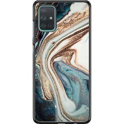 Samsung Galaxy A71 Hard Case (Svart) Mönster