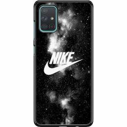 Samsung Galaxy A71 Hard Case (Svart) Nike