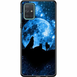 Samsung Galaxy A71 Hard Case (Svart) Varg