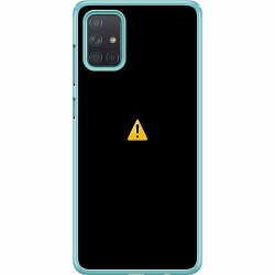 Samsung Galaxy A71 Hard Case (Transparent) Error