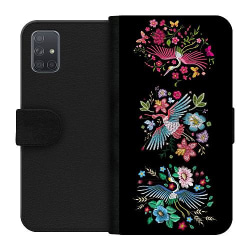 Samsung Galaxy A71 Wallet Case Birdie