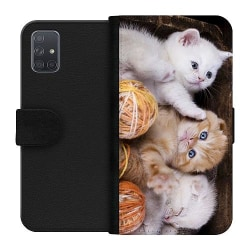 Samsung Galaxy A71 Wallet Case Katter