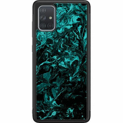 Samsung Galaxy A71 Soft Case (Svart) Afterlife